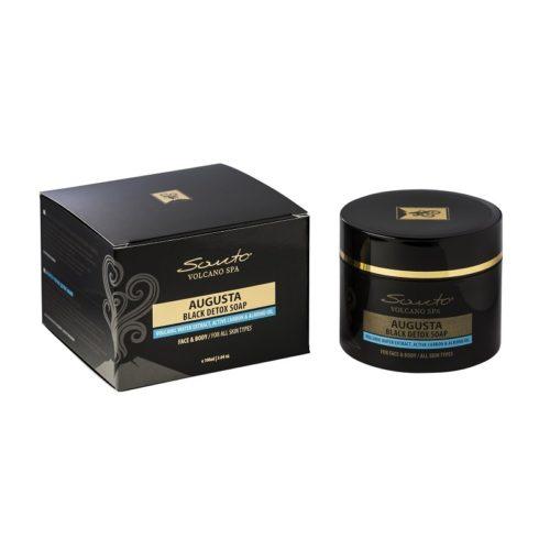 Minoica - Sapone nero detox viso e corpo